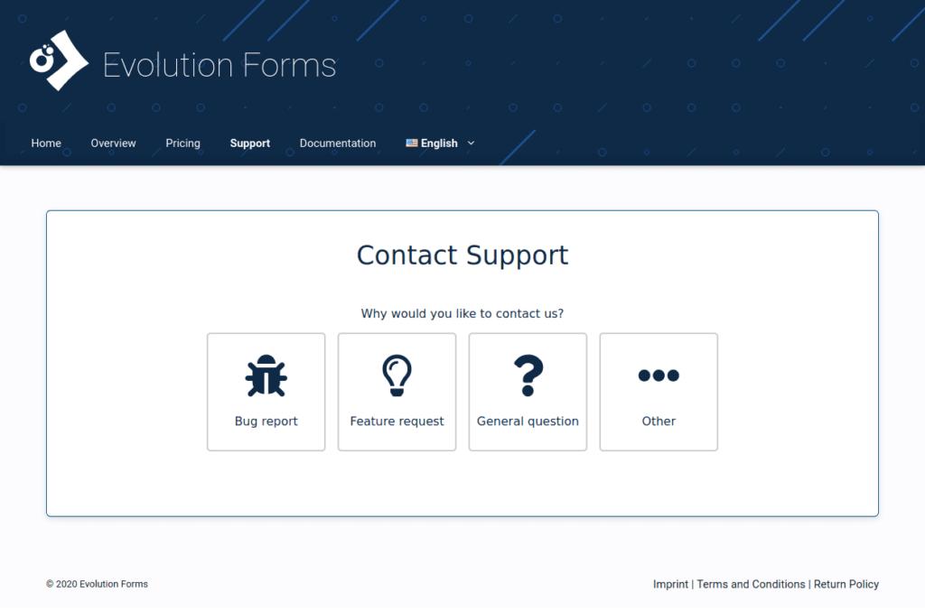 Anfrageformular-evolutio-forms-beispiel-evoforms