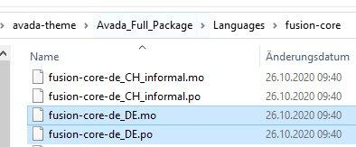 Avada Theme auf Deutsch umstellen mit einfachen Schritten erklärt