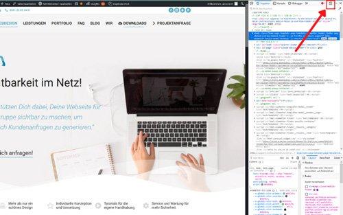 azoora - Website für mobile Geräte optimieren