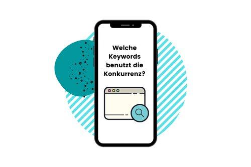 welche keywords benutzt die konkurrenz?