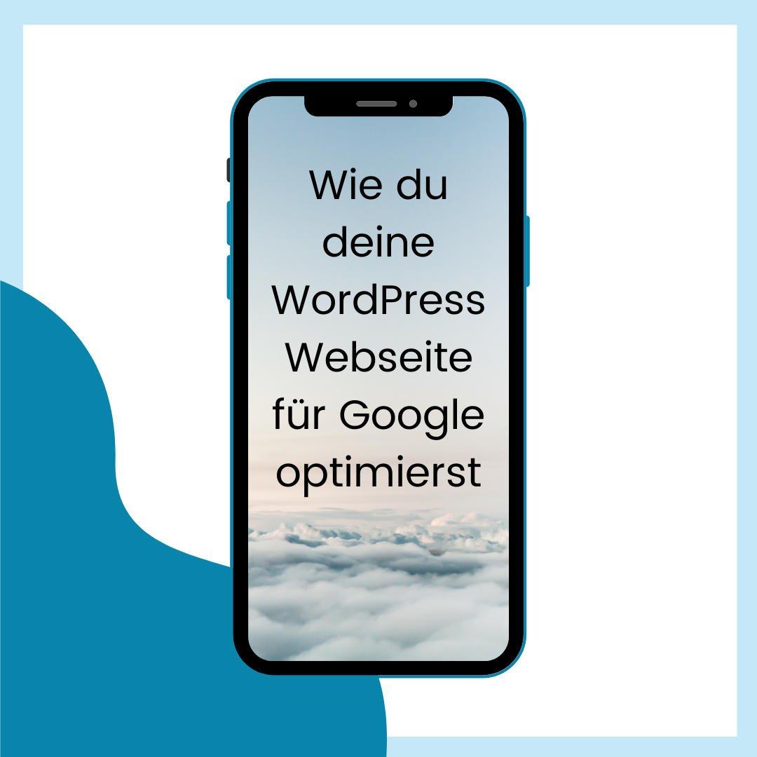 WordPress Webseite Google optimieren - azoora